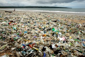 25th January, 2014 Kedongan beach Jimbaran Bay, Kuta, Bali, Indonesia Bali's famous beaches have been swamped by a sea of plastic in the last 4 weeks. Photo Jason Childs Photo Credit-(c)Jason Childs